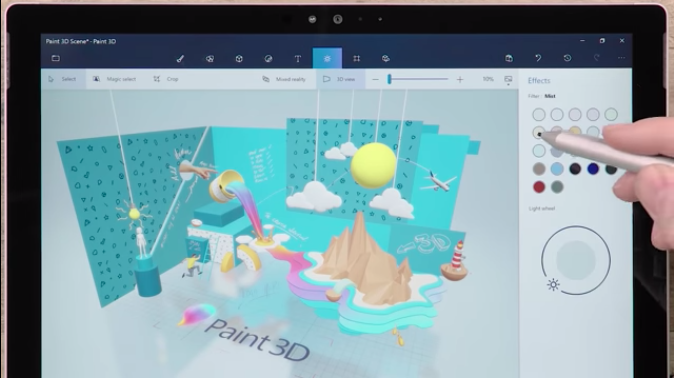 3D based Learning Material Development for Beginner 3DP01